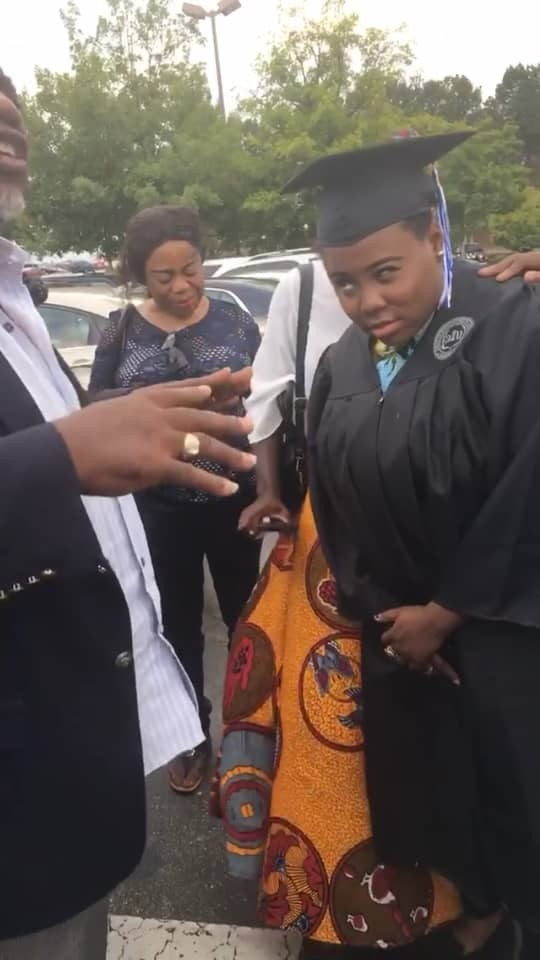 Singer, Teni, graduates from University of Georgia