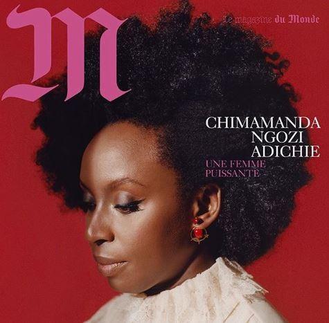 Chimamanda, Photos: Chimamanda Adichie covers French Magazine 'M-Lemonde', Latest Nigeria News, Daily Devotionals & Celebrity Gossips - Chidispalace