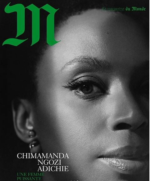 Photos: Chimamanda Adichie covers French Magazine?