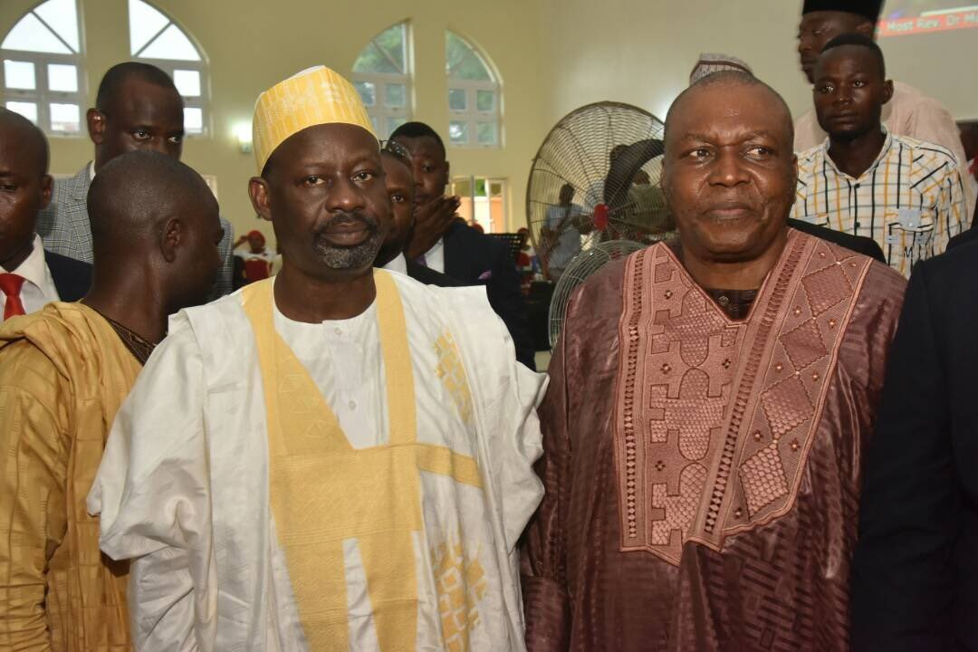 Photos from the wedding of Taraba state governor