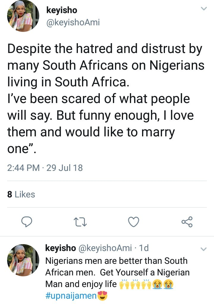"""Nigerian men are better than South African men"" South African woman declares after Nigerian man gifts her a car"