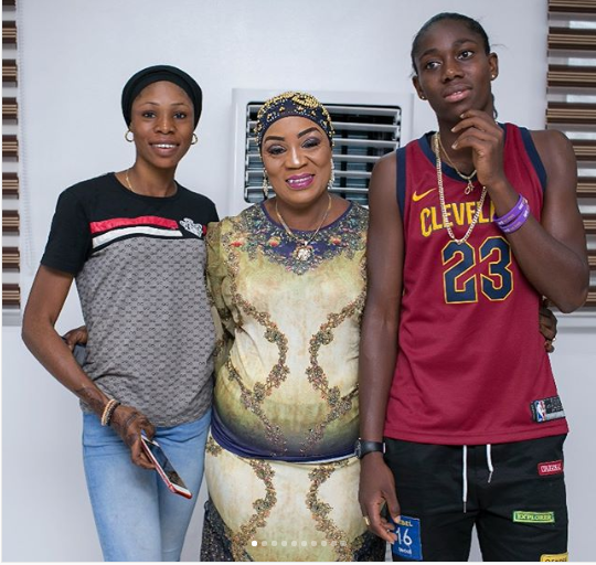 Super Falcons star Asisat Oshoala throws housewarming party to celebrate the mansion she bought her parents in Lagos? (Photos)