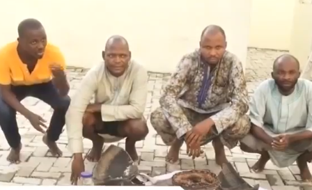 Police arrest Fraudsters in Ibadan who duped German-based Nigerian Lady of N81m (video)