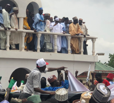 Breaking: Sokoto state governor, Aminu Tambuwal, defects from APC to PDP