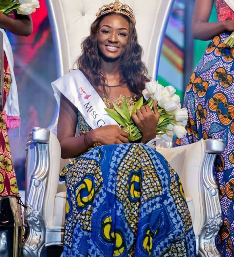 "Miss Ghana 2017 resigns just 8 months after being crowned, says ""It"