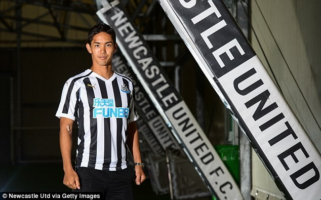 Newcastle announce ?10m arrival of their first everJapanese player Yoshinori Muto from Mainz?