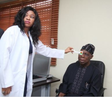 Ben Bruce describes Obasanjo as?a leader who believes in Nigeria for having?his medical check up done in Bayelsa State