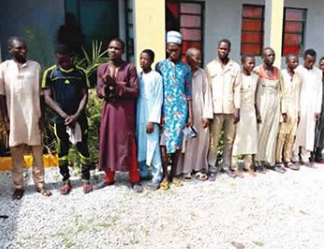 Three homosexual men arrested and paraded in Sokoto
