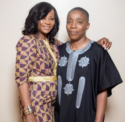 Nigerian lesbian lady, Moji Solar-Wilson,  shares new photo with her wife
