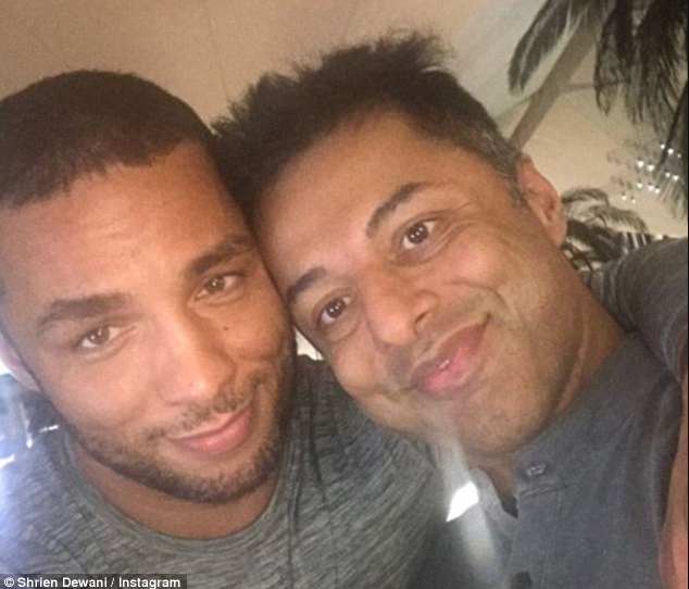 Millionaire Shrien Dewani finds love with a man four years after he was cleared of killing his wife on their honeymoon in South africa