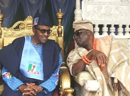'If you watch the life of President Buhari, he is not materialistically minded like other people' - Oba of Lagos, Rilwan Akiolu