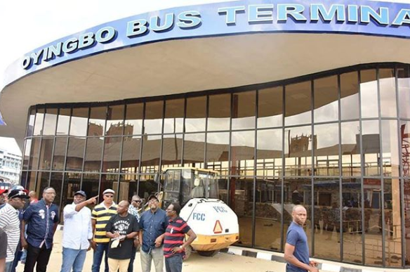 Check out this beautiful Bus Terminal Lagos state government is building at Oyingbo