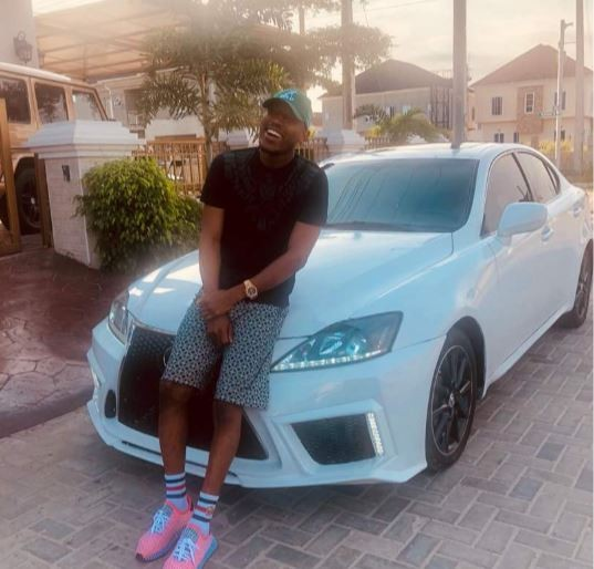 Mr 2kay shows off his brand new 2015?Lexus 250 (Photos)