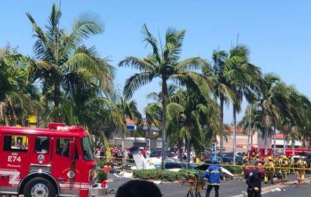 5 Killed In California After Small Plane Crashes Into A Parking Lot - Image ~ Naijabang