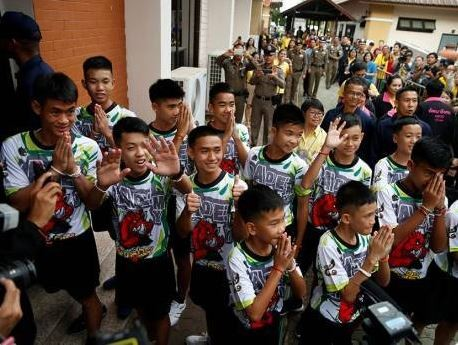 Update: Finally, Thai cave boys return to school
