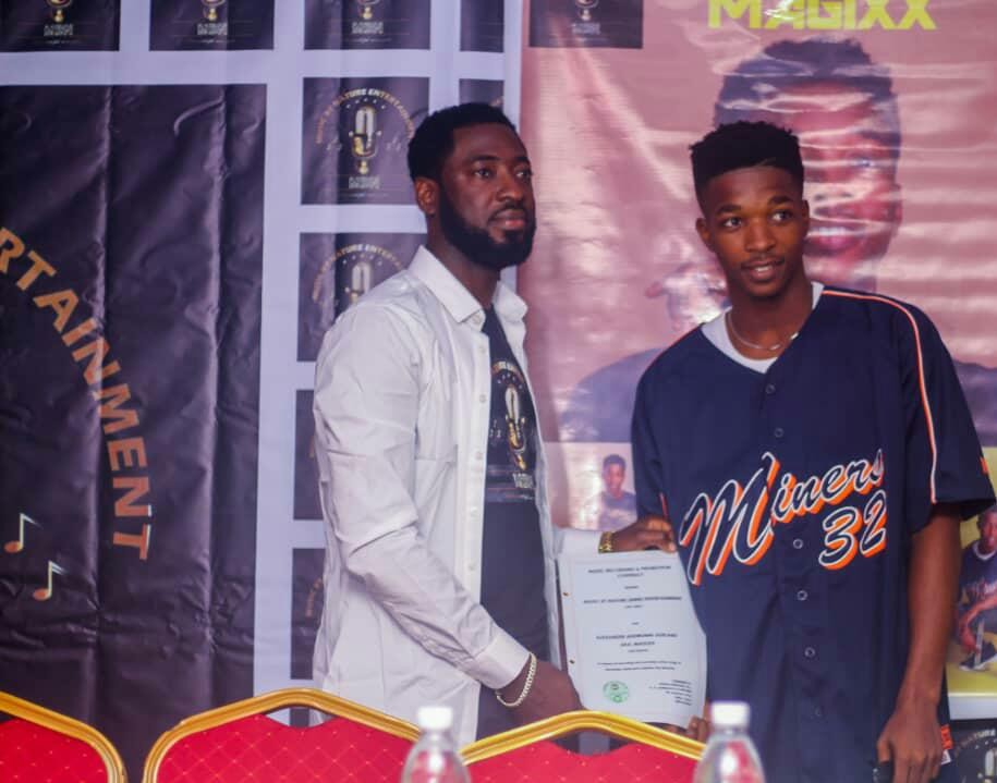 "Music by Nature Record label (MBN), welcome their first signing, ""MAGIXX"" to the label"