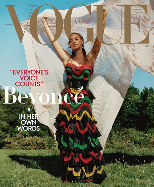 Beyonce covers Vogue Magazine