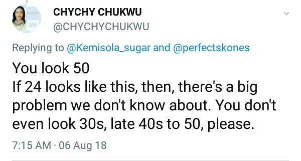 """""""You look 50"""" - Nigerian """"Inspirational Speaker"""" slams endowed young woman after she posted her 24th birthday photos"""