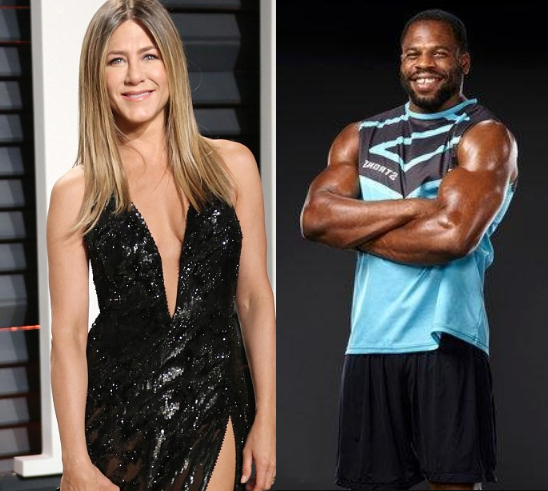 Actress Jennifer Aniston, 49, hires hunky Nigerian personal trainer 18 years her junior for boxing workouts at her LA mansion?(Photos)