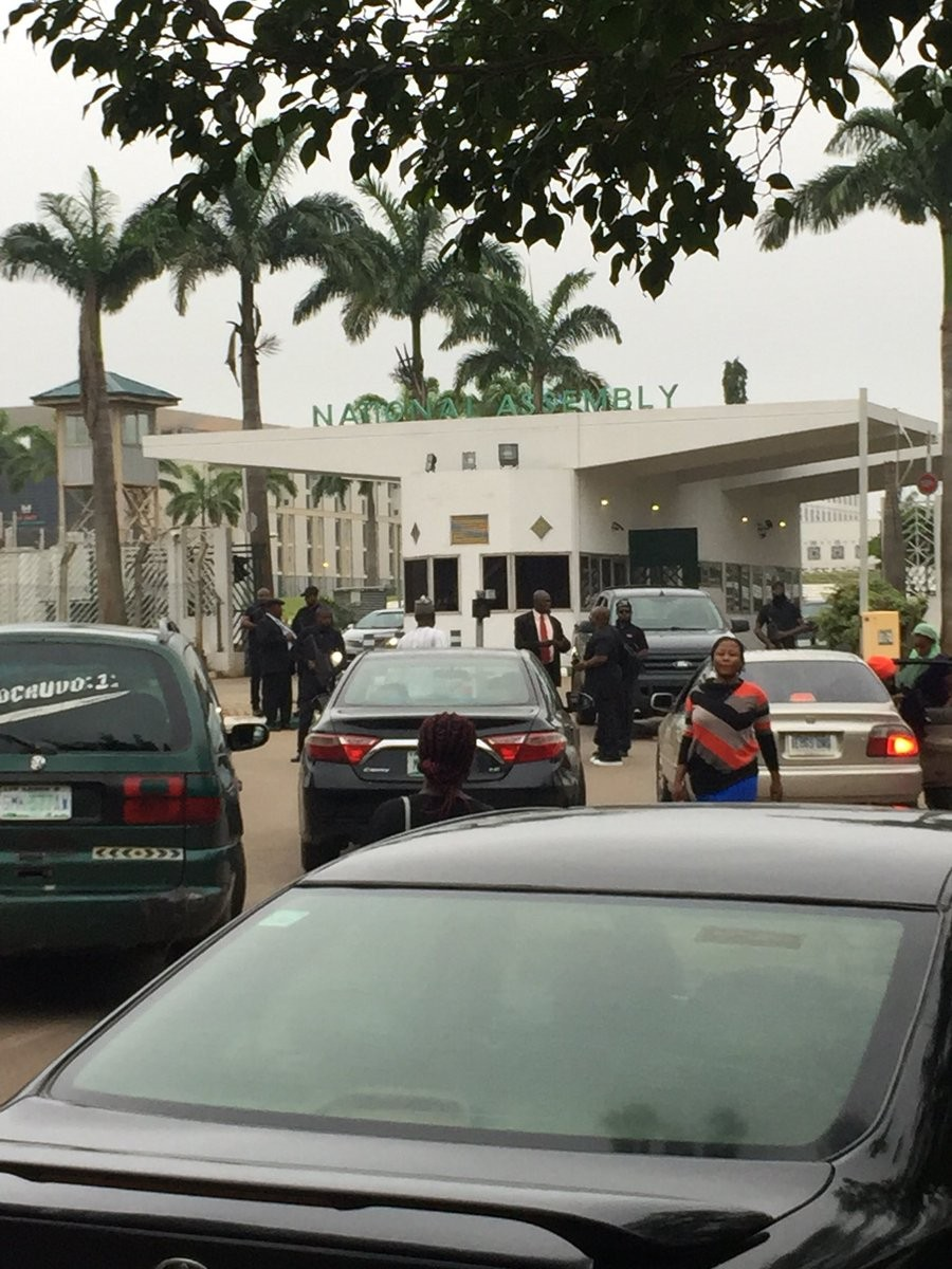 Breaking: DSS officials take over National Assembly