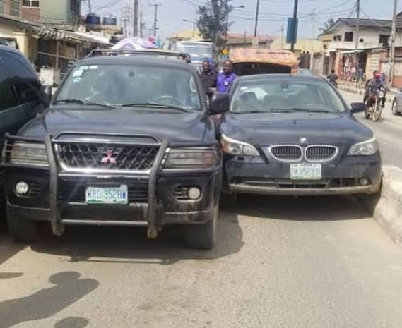 Assistant Police PRO, Aliyu Giwa shares hilarious story of how he missed his flight and got his car bashed twice in 24-hours