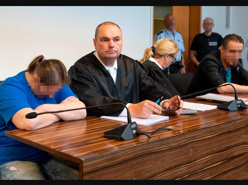 German couple jailed for selling their young son to Paedophiles for sex on Darknet (Photos)
