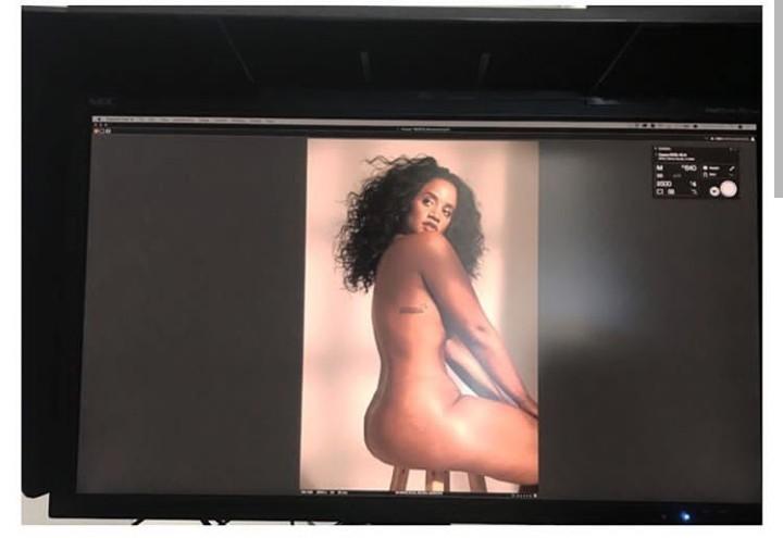 Dasha Polanco goes completely naked for Women