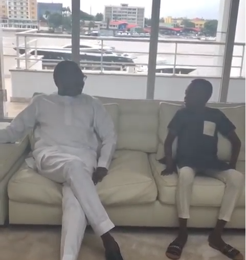Billionaire businessman, Femi Otedola reveals he