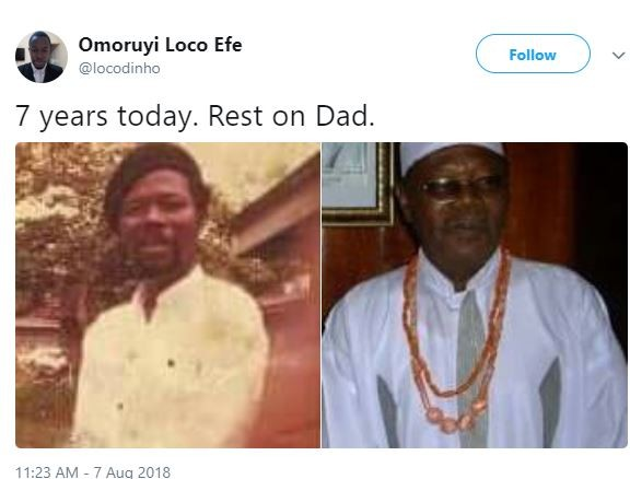 It?s been 7 years since Nollywood Actor, Sam Loco Efe passed away
