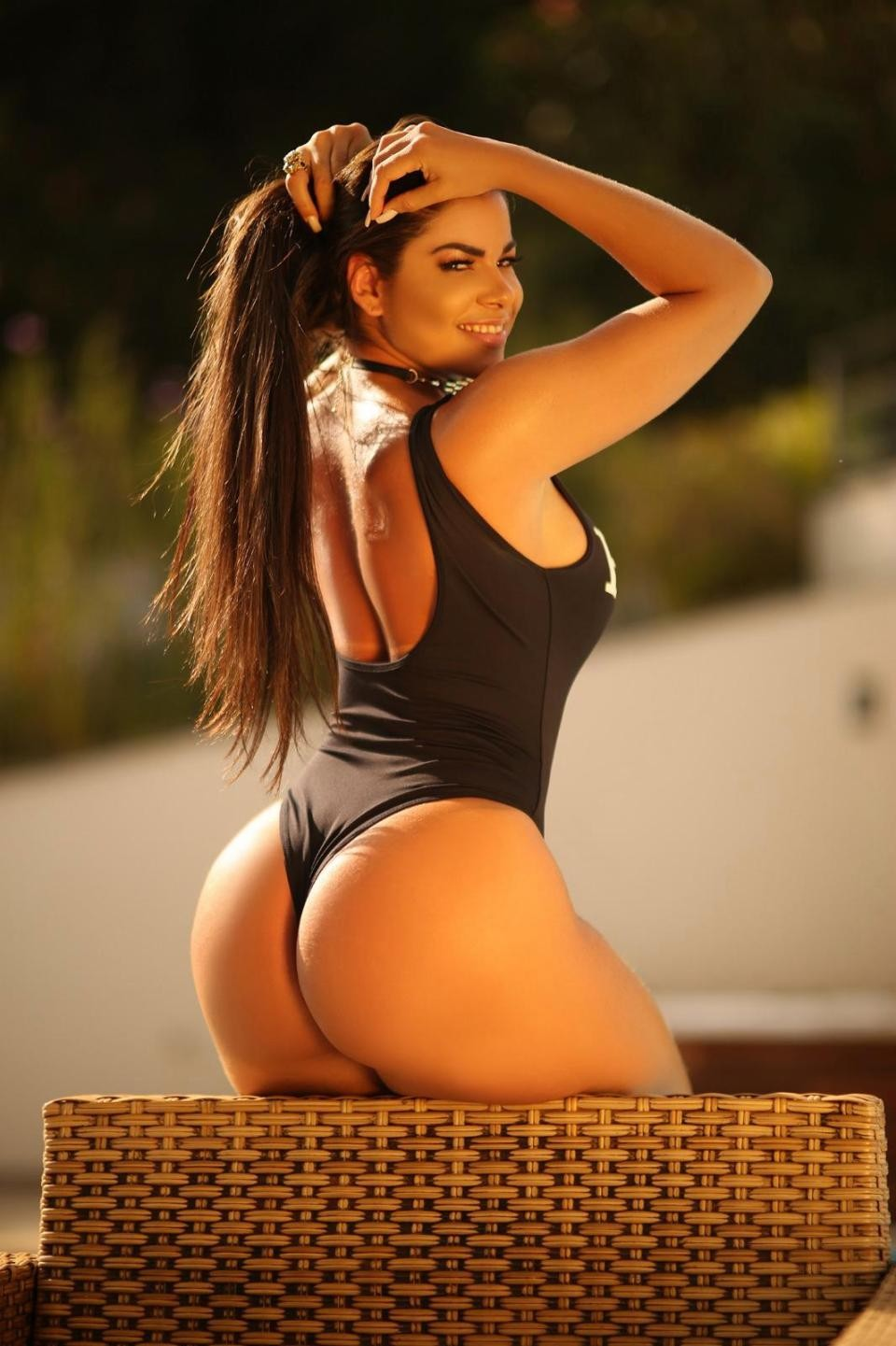 Miss BumBum contestants pose with X-RAYS of their massive bottoms to prove they are real (Photos)