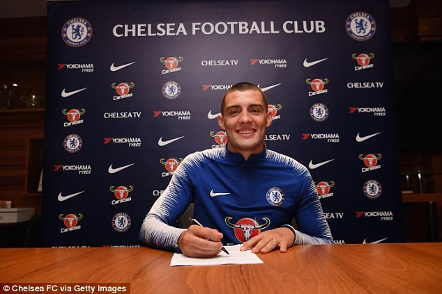 Chelsea signs Croatian midfielder Mateo Kovacic on loan from Real Madrid (Photos)