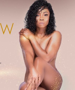 Toke Makinwa strips completely nude for an ad campaign