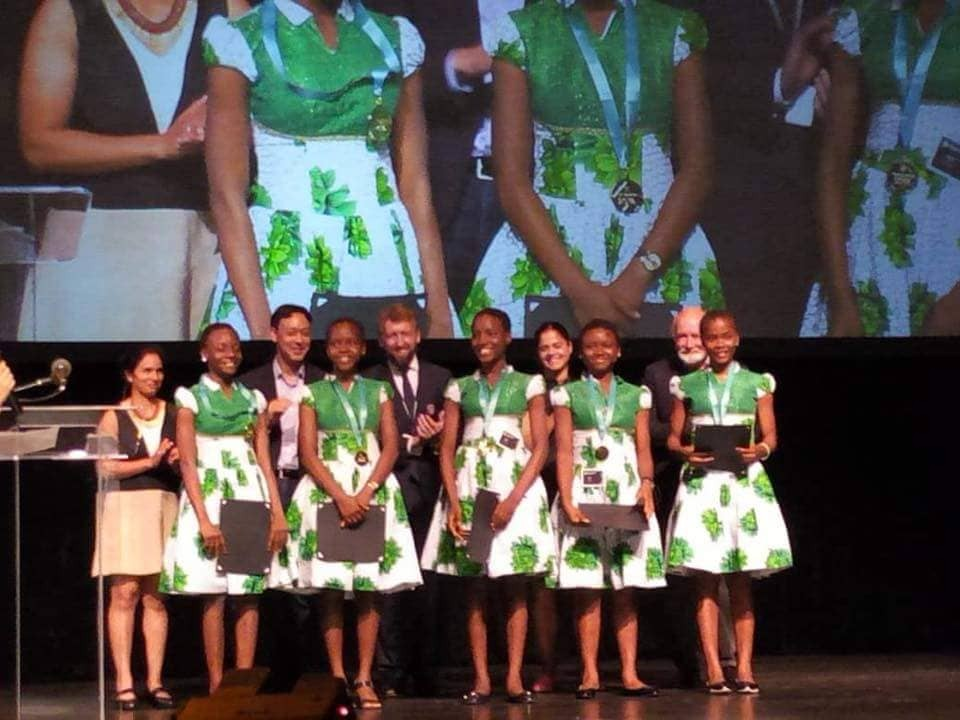 Anambra school girls win gold in World technovation challenge in the US