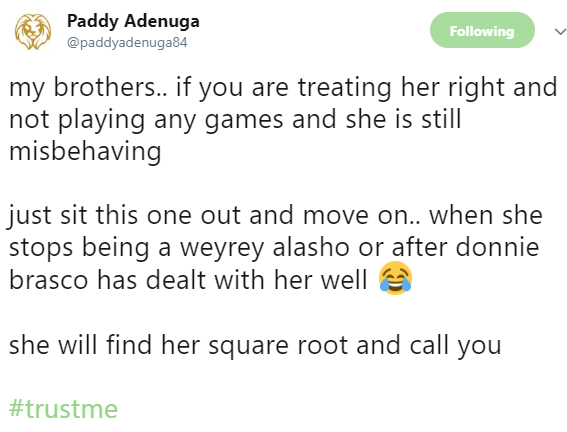 SHOCKING !!!: Here is Billionaire son Paddy Adenuga's advice to men dating girls who misbehave