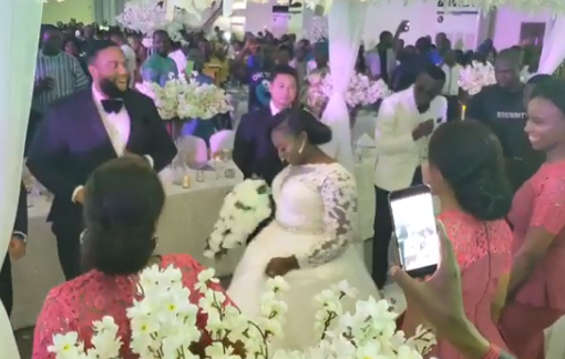 Photos from the wedding of the daughter of former Enugu state governor, Sullivan Chime