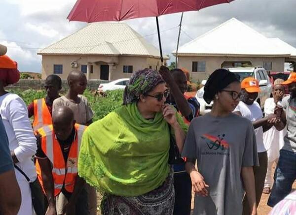 """Gem of a daughter better than 10 sons"" - Samira Sheriff celebrates daughter, Adama Indimi on her birthday"