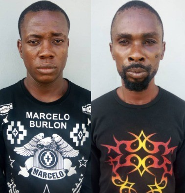Photos: Traffic robbery kingpins apprehended in Lagos