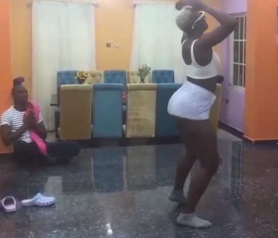 Wendy twerks up a storm as Made In Gidi housemates have a Level Up dance challenge
