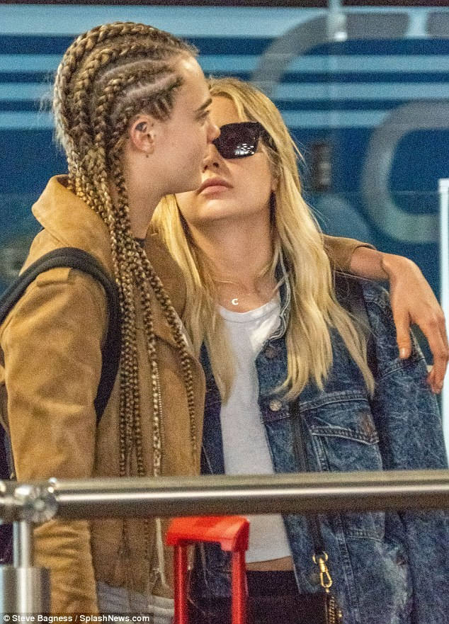 Actress Cara Delevingne confirms she has moved on from Paris Jackson as she