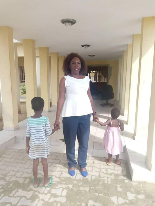 Abusive mother flees after attacking a man trying to rescue her two children from her in Bayelsa
