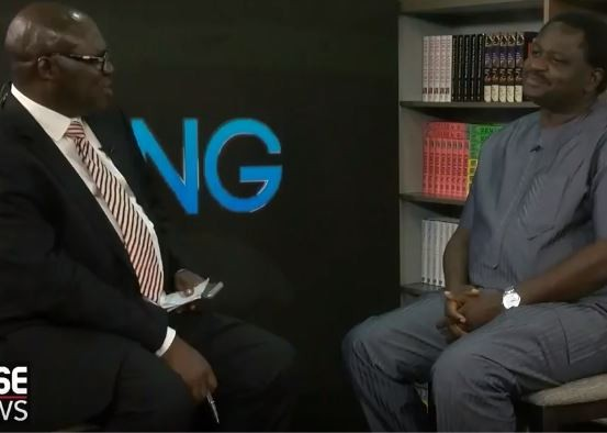 Video: Reuben Abati former Presidential spokesman to Jonathan interviews current Presidential spokesman Femi Adesina