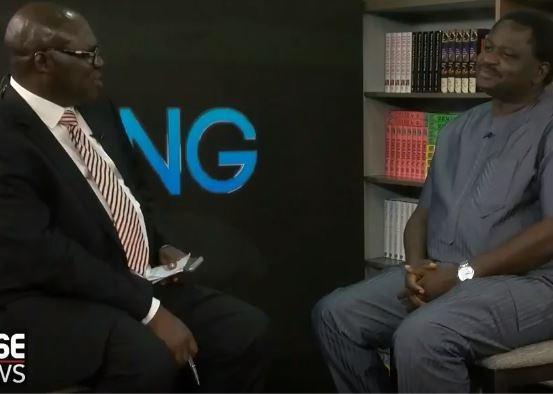 Reuben Abati former Presidential spokesman to Jonathan interviews current Presidential spokesman Femi Adesina
