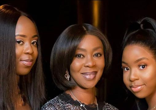 Beautiful family photos of Senate President Bukola Saraki, his wife, and their beautiful daughters