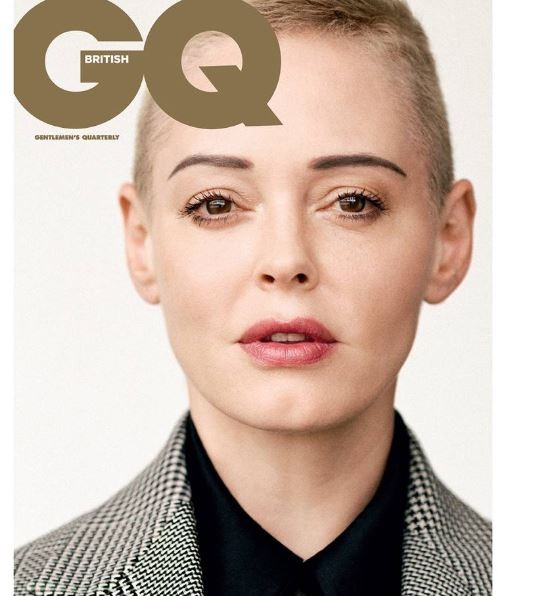 Actress, Rose Mcgowan makes history as first woman to win GQ?s Inspiration award