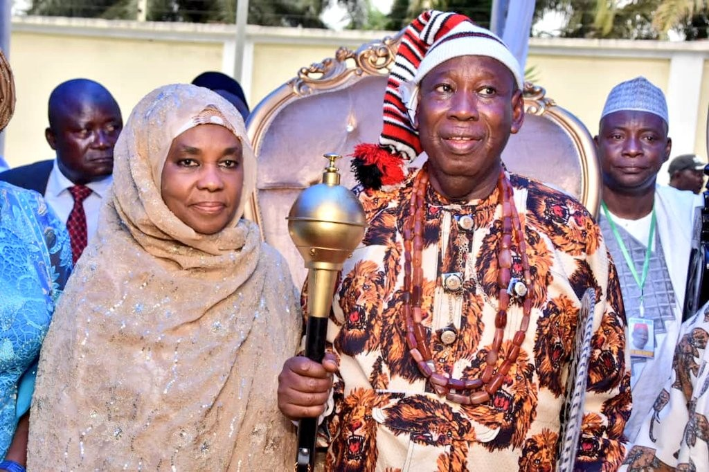 Photos: Kano state governor, Umar Ganduje bags Igbo chieftancy title