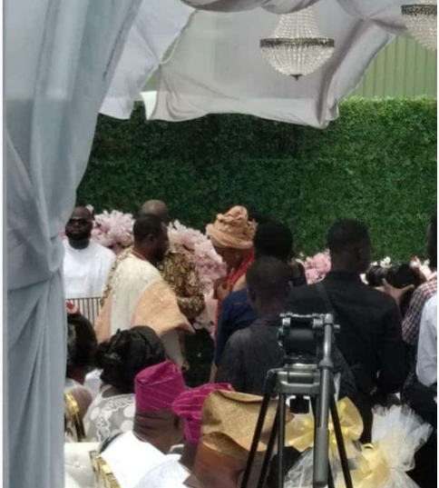 First photo from the wedding of Ghanaian singer Becca and Ice Prince?s former manager, ?Tobi Sanni Daniel in Ghana