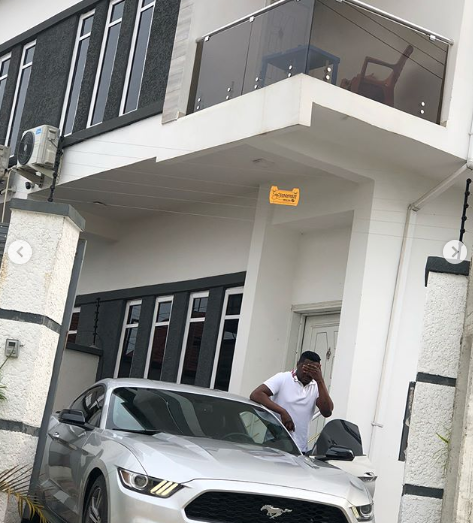 Rapper, CDQ, shows off his new ride (photos)
