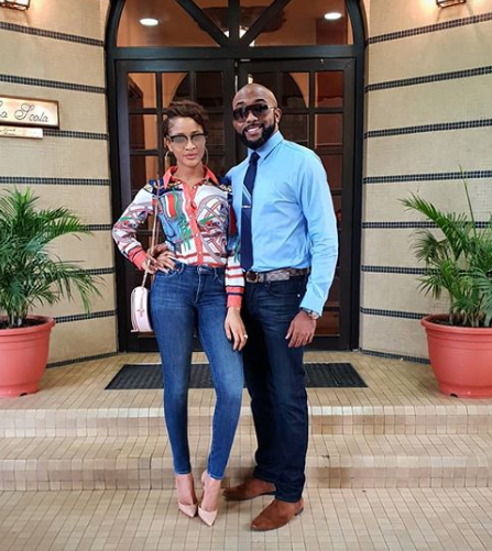 Lovely new photos of Banky W and his wife, Adesua
