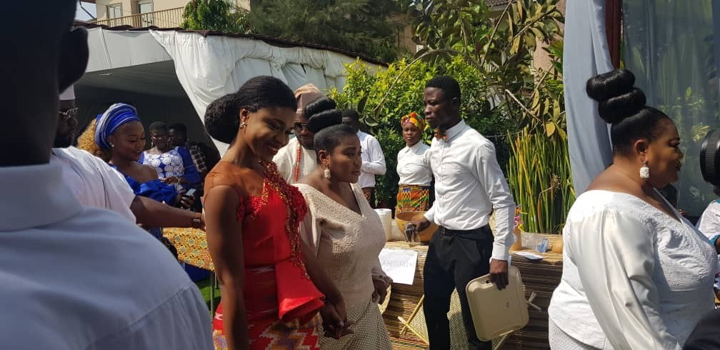 More photos from wedding of Ghanaian singer Becca and Ice Prince?s former manager, ?Tobi Sanni Daniel in Ghana