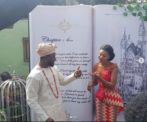 Photos from wedding of Ghanaian singer Becca and Ice Prince's former manager,  Tobi Sanni Daniel in Ghana